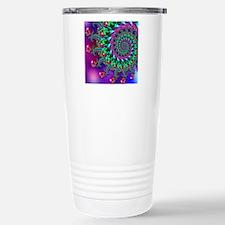 Purple Green and Red Bo Thermos Mug