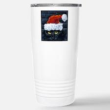 Kitty Claws Secret Sant Travel Mug