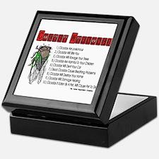 Cicada Warnings Keepsake Box