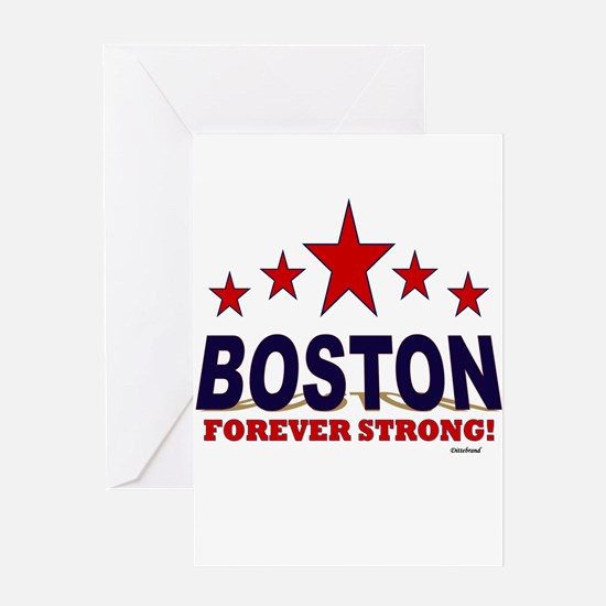 Boston Forever Strong Greeting Card