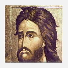 St John the Baptist, 16th cent., Dmit Tile Coaster