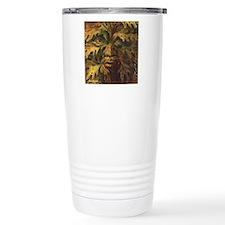October Green Man Thermos Mug
