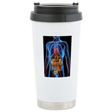 Computer artwork of the Travel Coffee Mug