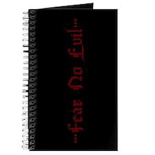 Fear No Evil Journal