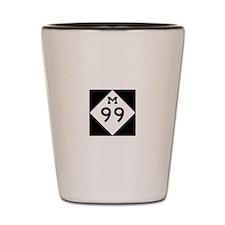 M 99 Love Shot Glass
