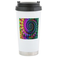 Psychedelic Rainbow Fra Travel Mug