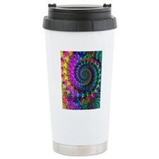 Psychedelic Rainbow Fra Travel Coffee Mug