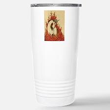 Corn Dog of Fire Stainless Steel Travel Mug
