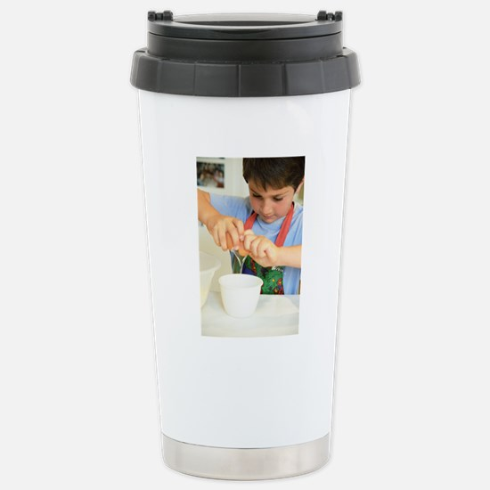 Making cakes Stainless Steel Travel Mug