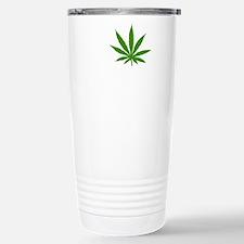 I Love Marijuana Travel Mug