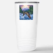 Mountain Trout Fisherma Travel Mug