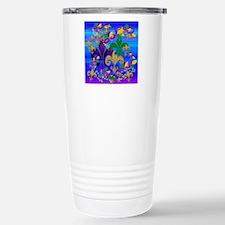 Mardi Gras Psycadelic F Travel Mug