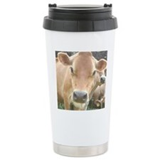 Jersey Cow Face Thermos Mug