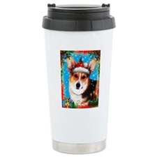 Christmas Banjo Travel Coffee Mug