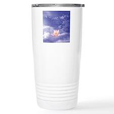 Sq-WORDS-Zen Lily Float Travel Mug