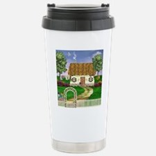 Country Cottage Stainless Steel Travel Mug