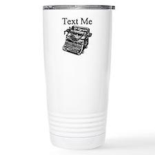 Text Me-Typewriter-1 Travel Mug
