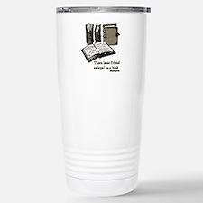 Books-3-Hemingway Stainless Steel Travel Mug