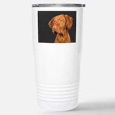 vizsla portrait Thermos Mug