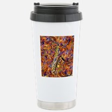 Sax In The City Jazzy M Stainless Steel Travel Mug
