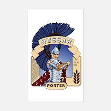 Hussar Porter Rectangle Decal