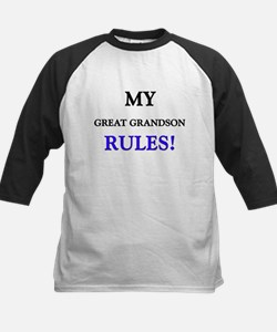 My GREAT GRANDSON Rules! Tee