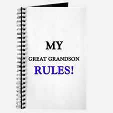 My GREAT GRANDSON Rules! Journal