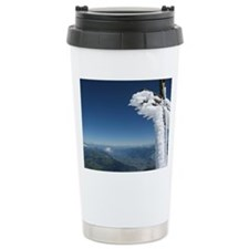 "Summit of ""La Haute Cim Travel Coffee Mug"