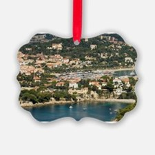 St Jean Cap Ferrat, View from Hel Ornament