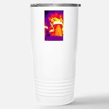 Cooling towers, thermog Travel Mug