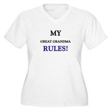 My GREAT GRANDMA Rules! T-Shirt