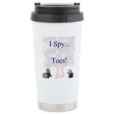i spy toes Travel Mug