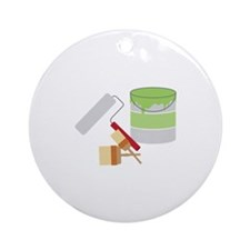 Painters Tools Ornament (Round)