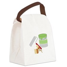Painters Tools Canvas Lunch Bag