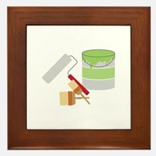 Painters Tools Framed Tile