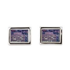 Montreal. City view from Mou Rectangular Cufflinks
