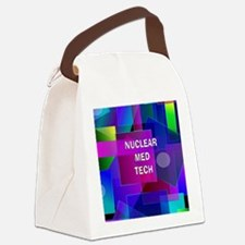 Nuclear Med Tech Canvas Lunch Bag