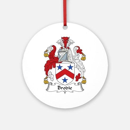 Brodie Ornament (Round)