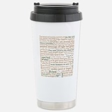 Shakespeare Insults Travel Mug