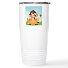 Mojo and a Big Banana Travel Mug