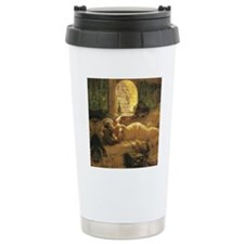 An Odalisque by Travel Mug