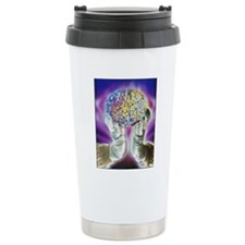 loved hands holding a h Travel Coffee Mug