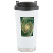 M51 whirlpool galaxy Travel Coffee Mug