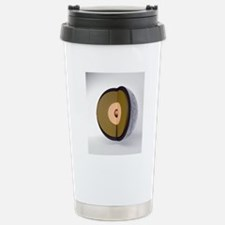 Moon internal structure Travel Mug