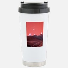 Occultation of moon Stainless Steel Travel Mug