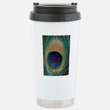 Peacock feather Stainless Steel Travel Mug