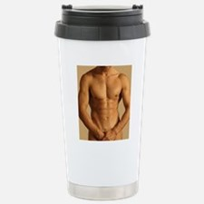 Nude man Stainless Steel Travel Mug