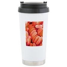 Red blood cells Travel Coffee Mug