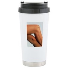 Side view of the crosse Travel Mug