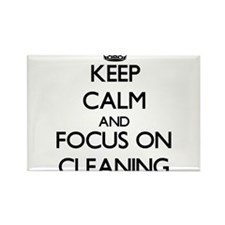 Keep Calm and focus on Cleaning Magnets